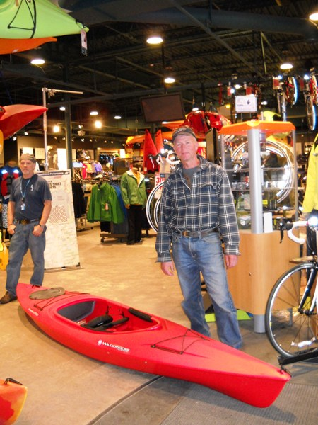 2011 kayak winner